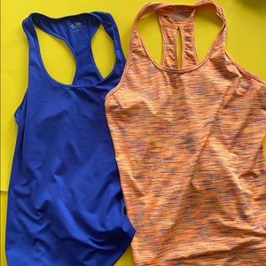 Work out tops size Large